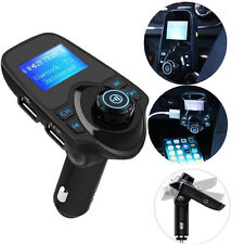 T11 Bluetooth Car FM Transmitter Wireless Radio Adapter USB Charger Mp3 Player