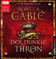 DER DUNKLE THRON - GABLÉ,REBECCA  5 CD-ROM NEU