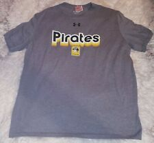 Under Armour Shirt Pittsburgh Pirates Baseball  Xxl Men Grey new