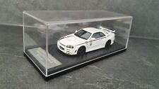 Nissan Skyline GT-R R34 Nismo R-tune, white, nismo festival, 1:43 hpi no spark