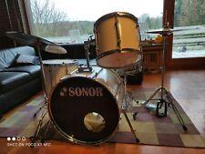 Sonor Force 1000 Schlagzeug Drumset + Paiste Becken Set + neuwertiger Hardware