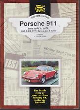 PORSCHE 911 911S 911E 911T CARRERA & TURBO 912 (1966-79) periodo di prove su strada LIBRO