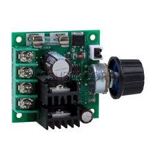 DC 12V-40V 10A PWM Current Module Motor Speed Contriller Regulator+Knob NEU