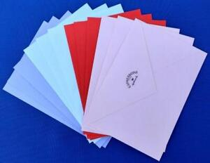 12 Hallmark Greeting Card Envelopes ONLY - Assorted Colors NEW