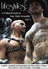 Lifestyles: A Cultural Look at Gay Male Sexuality Vol. 1 (DVD) REGION 1 NEW!