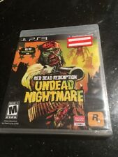 RED DEAD REDEMPTION:UNDEAD NIGHTMARE Sony PlayStation 3 New Sealed