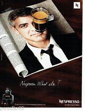 PUBLICITE ADVERTISING 096  2008  Café Nespresso & George Clooney