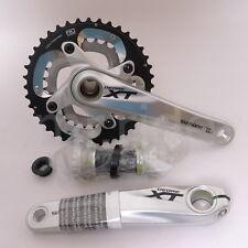 Shimano Mountain Bike FC-M785 w/bb SM-BB70, XT Crankset Silver 40/28T, 175mm