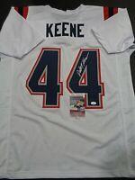 Dalton Keene New England Patriots Autographed Custom Style Jersey COA-JSA