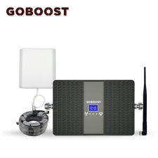 Goboost Dual Band Repeater 900Mhz 1800Mhz Mobile Phone Signal Amplifier Kit Mini