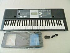 Yamaha YPT-230 Digital Portable Piano Keyboard & AC Power Adapter & Music Stand
