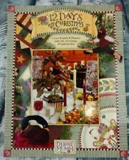 12 Days Of Christmas Gift, Decorating & Quilting Ideas By Debbie Mumm