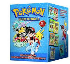 Pokemon Adventures Red & Blue Box Set: Volumes 1-7 by Mato 9781421550060 (2012)