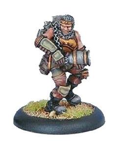 Warmachine Mercenaries - -- DEVIL DOG GRUNT -- - Privateer Press Pirate Trooper