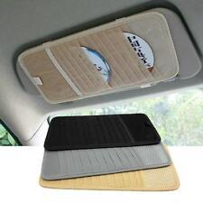 12 Disc CD DVD Holder Sleeve Storage Wallet FOR DISC Car Sun Visor Money Cash FI