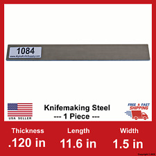 1084 Carbon Steel Bar - 1/8 in x 11.6
