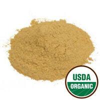 Maca Root Powder, gelatinized ORGANIC (Lepidium meyenii) FREE SHIP 1 oz - 1 lb