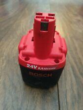 Bosch 24v battery 2.6Ah nimh heavy duty 'o' pack 2 607 335 561, not 2.0Ah
