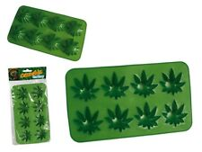 CANNABIS LEAF WEED MARIJUANA SHAPED ICE TRAY ICE CUBE MOULD MAKER PERFECT GIFT