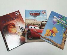 3 Livres Disney- winnie-cars-le roi lion