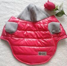 Hundebekleidung Hundejacke Hundemantel Winterjacke Regenjacke Regenmantel Rot M