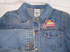 Disney Cuties Jean Jacket Girls XL