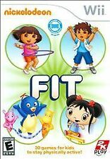 Nickelodeon Fit Nintendo Wii Kids Fitness Game