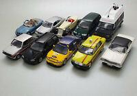 10 x Modellautos Konvolut 1:43 (DEFEKT) von Altaya/IXO/Minichamps/Herpa/Hongwell
