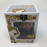 Funko Pop Injured Daryl Hot Topic Bloody Exclusive