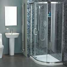 Atlas 1100 x 800 Bathroom Offset Quadrant Shower Enclosure Complete | RRP: £949