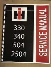 504 International Harvester Tractor Technical Service Shop Repair Manual Farmall