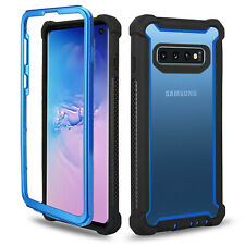For Samsung Galaxy S8 Note 10 S10 Plus Heavy Bumper Full Cover Rugged Armor Case