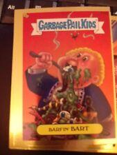Garbage Pail Kids 2004 All-New Series 2 Gold FOIL #F15b Barfin' Bart