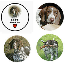 German Shorthaired Pointer Magnets 4 Gsps 4 your Fridge or Collection-Gift Idea!