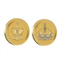 Australia 2013 QUEEN ELIZABETH II Coronation Set of 2 $1 Dollar UNC Coins Carded