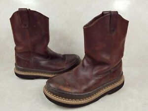 Georgia Boots youth Kids Boots Work Boots Size 1 YOUTH