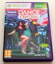 ** DANCE CENTRAL KINECT XBOX 360 ESPAÑOL COMO NUEVO COMPLETO **