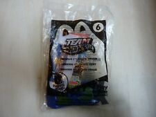 McDonald's Team Hot Wheels happy meal toy Impavido 1 green driver #6 2012 sealed