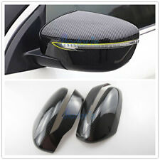 For Nissan Juke 2014 2015 2016 2017 Carbon Fiber Door Mirror Cover Car Styling