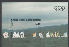 Comoros Sc C131 NH Souvenir Sheet of 1983 - Olympics
