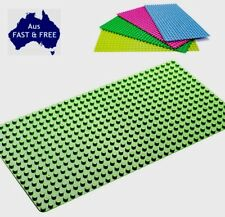 GREEN BIG BLOCK BASEPLATE FOR DUPLO MEGA BLOKS 51x25cm LARGE BOARD XMAS LEGO MAT