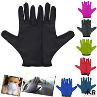 Hand Protection Jasmine Silk Mat Pure Silk elastic fitting Liner Gloves Thermal