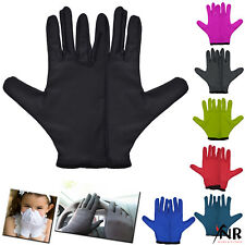 Jasmine Silk Mat Pure Silk + Lastic fitting Liner Gloves Thermal Ski Inner BLACK