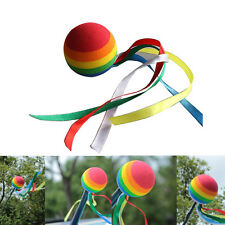 Auto Antenne Toppers Rainbow Ball farbige Band Antenne BälleNIU
