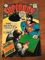 Superboy #148 DC Comics 1968 VG