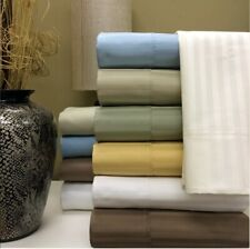 Cozy Bedding 1000TC Egyptian Cotton 1 PC Bed Skirt All US Size Striped Colors