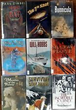 9 HARDCOVER Book Lot TEEN Young Adult FICTION Youth NOVELS Mystery Adventure BOY