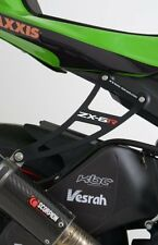 ZX6R 2010 R&G Racing Exhaust Hanger & Footrest Blank Plate LHS EH0043BKA Black