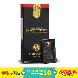 5 Boxes x Organo Gold Instant Black Coffee Cafe Ganoderma Extract FedEx DHL