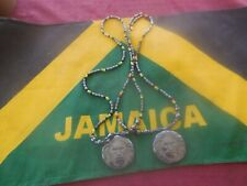 3 Pieces Unisex Jamaica Flag Print Stretch Head//arm Band Cotton weaved